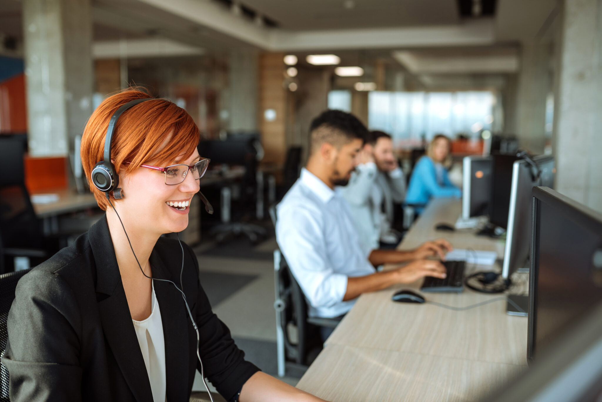 professional answering service call center